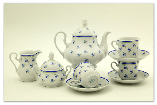Чайный сервиз из Чехии.
