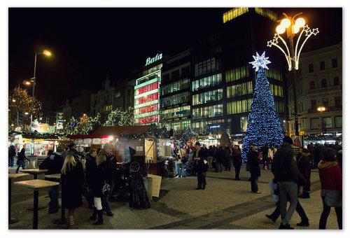 Распродажи в Праге на Рождество.