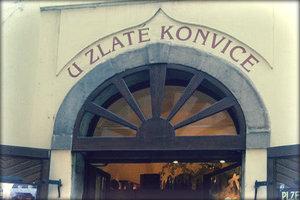 Ресторан U zlate konvice в Праге