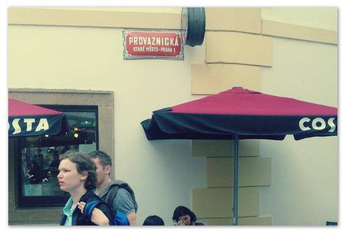 Улица Provaznická.