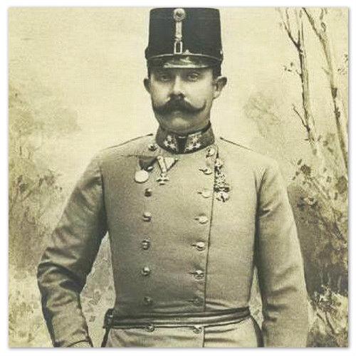 Наследник Австро-венгерского престола Franz Ferdinand von Österreich-Este приобрёл замок Konopiste 1887 году за два миллиона золотом.