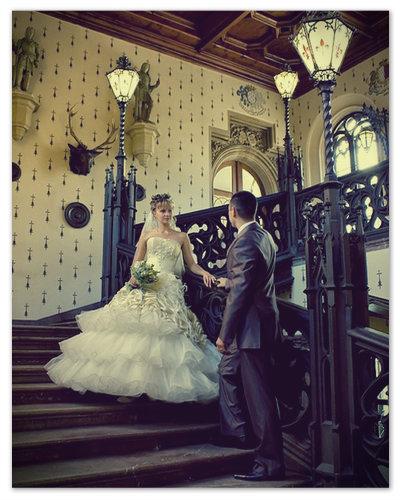 Свадьба в замке Конопиште.