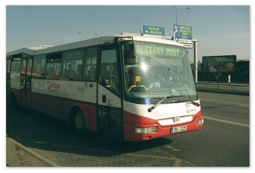 Автобус с вокзала Чёрный мост.