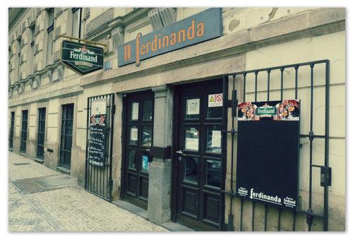 «Ferdinanda» — пивная «У Фердинанда» в Праге. Пиво «Семь пуль»