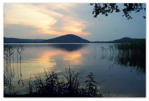 Махово озеро на закате — нужно ли ещё здесь что-то говорить...