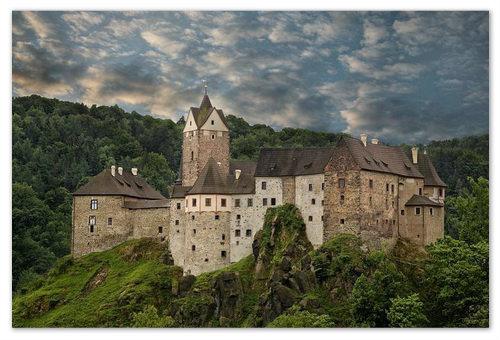 Замок Локет в Чехии — фото и отзывы. Как добраться до замка Локет из Карловых Вар и из Праги.