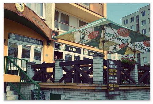 Ресторан Na Mostě.