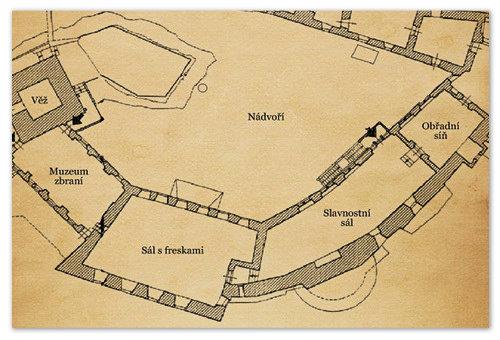 Схема построения здания поясняет откуда взялось столь необычное название.