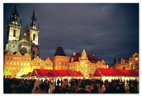Куда же ещё ехать в декабре, как не в Прагу?
