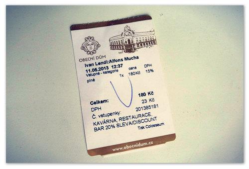 Это мой билетик  — сохранил его себе на память.