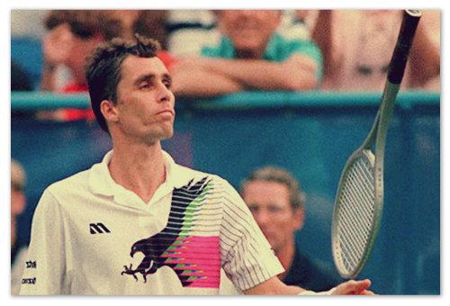 С 1982 по 1990 год Lendl не выходил из тройки лучших теннисистов планеты.  Из них — четыре года становился первым.