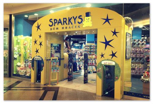 Магазин игрушек Sparkys — из разряда обязательных рекомендаций.