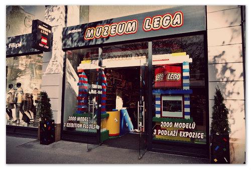 Музей ЛЕГО в Праге.