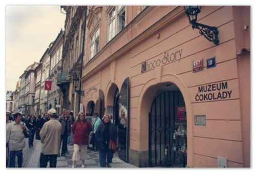 На первый взгляд Muzeum čokolády Choco-Story — совсем не детское место.