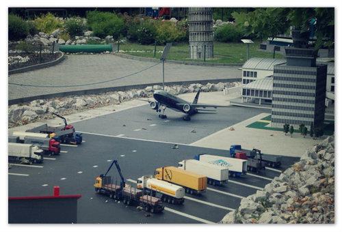 Парк миниатюр Svět miniatur Miniuni — здесь даже свой аэропорт есть.
