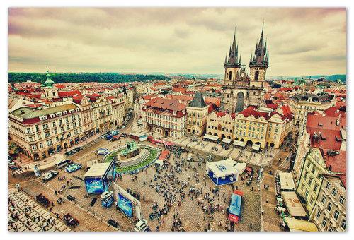 Сердце Праги — вот оно какое.