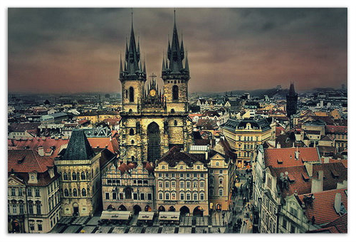 Церковь Девы Марии перед Тыном — один из главных символов Праги.