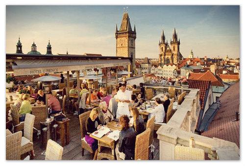 Ресторан У принца в Праге.