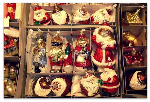 Ёлочная игрушка Дед Мороз.