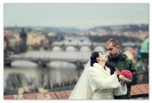 Свадьба в Праге в феврале.