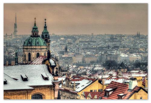 Обзорная экскурсия по зимней Праге.