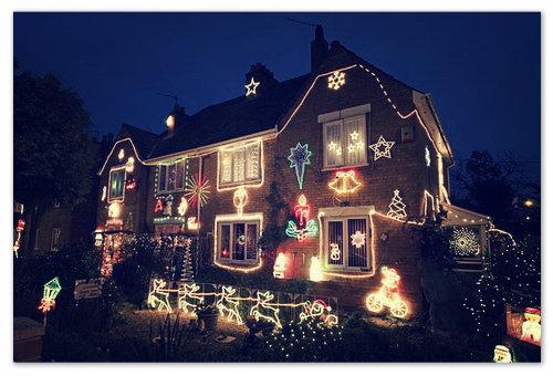 Рождественский дом.