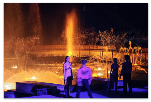 Křižíkova fontána.