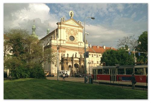 Пешие прогулки по Праге.