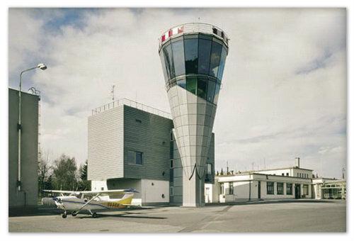 Здание управления воздушным движением.
