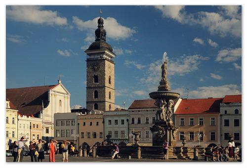 Главная достопримечательность Ческе Будеёвице.