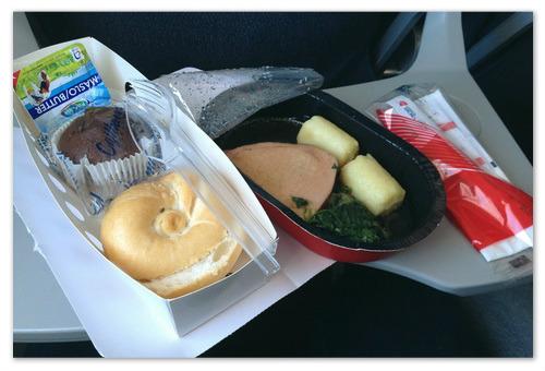 Что едят в самолёте?