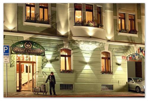 Отель Генерал в Праге 5 звёзд.