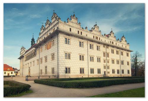 Замок в стиле ренессанс.