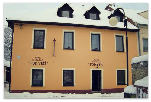 Hotel Pod Vezi в Праге.