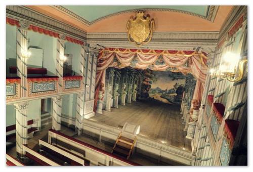 Сцена в замке Литомышль.