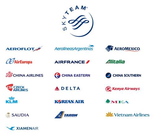 В Скайтим входя 20 крупнейших авиакомпаний.