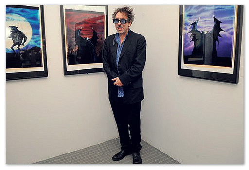 Тим Бартон делает в Праге выставку своих произведений.