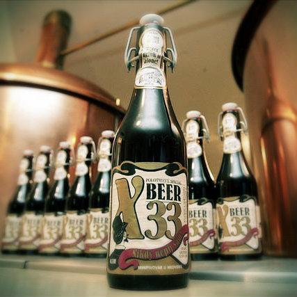 Пиво X-Beer 33.