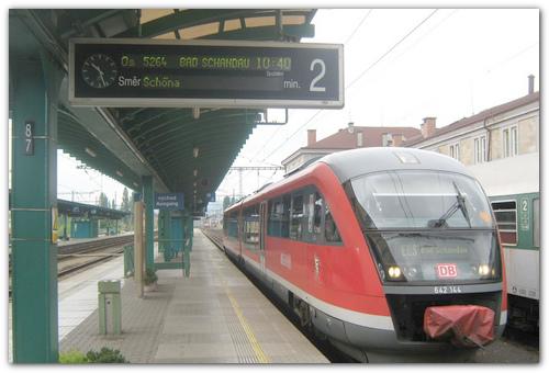 Поезд Дечин—Бадшандау.
