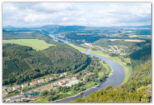 Река Эльба.