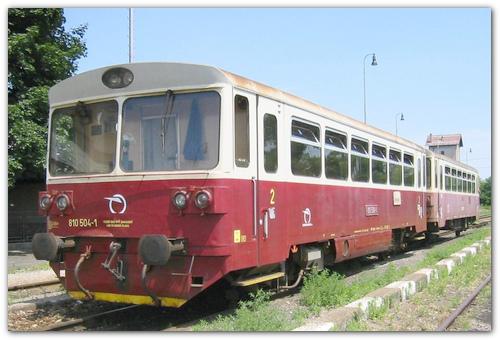 Ретро-поезд.