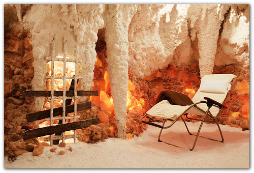 Соляная пещера.