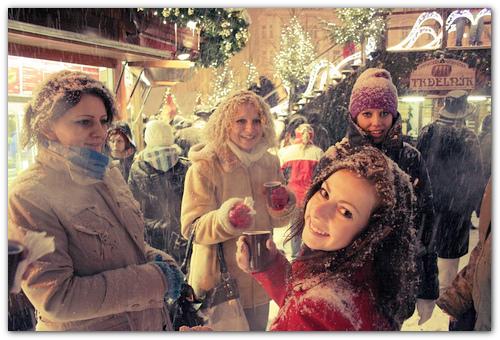 Рождественская ярмарка.