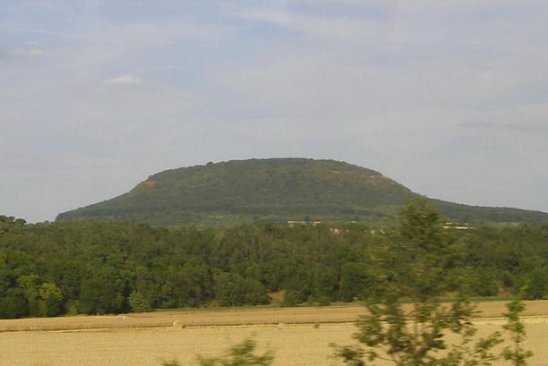 Гора Ржип, с которой и началась Чехия.