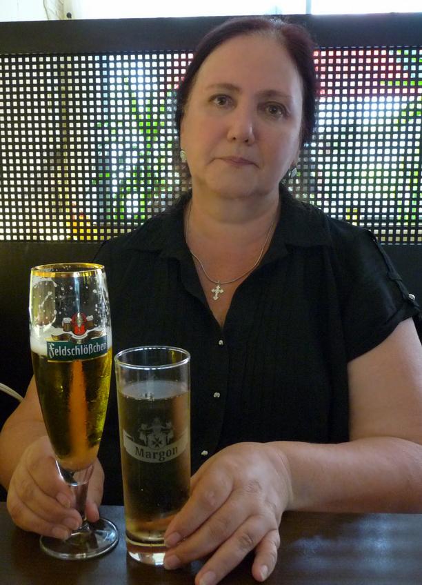 Настоящее немецкое пиво и лимонад.