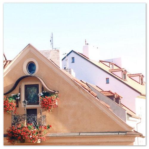 Дом на Кампе под иконой Богоматери.