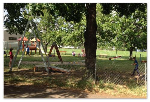 Дети играют в Кутна Горе.