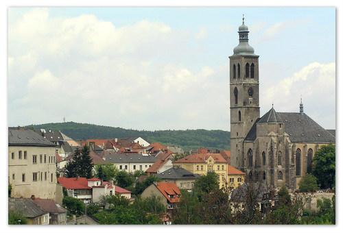 Башня Собора Святого Якуба.