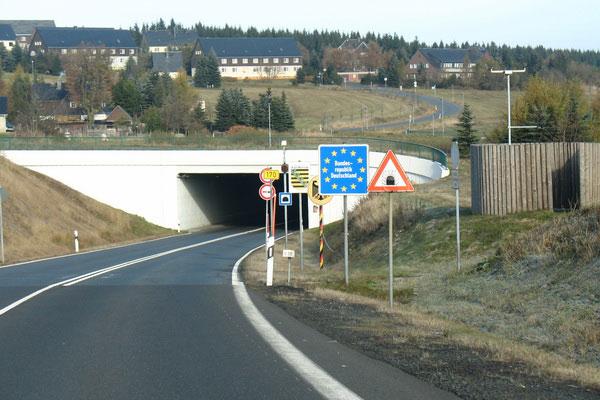 Чешско-германская граница.