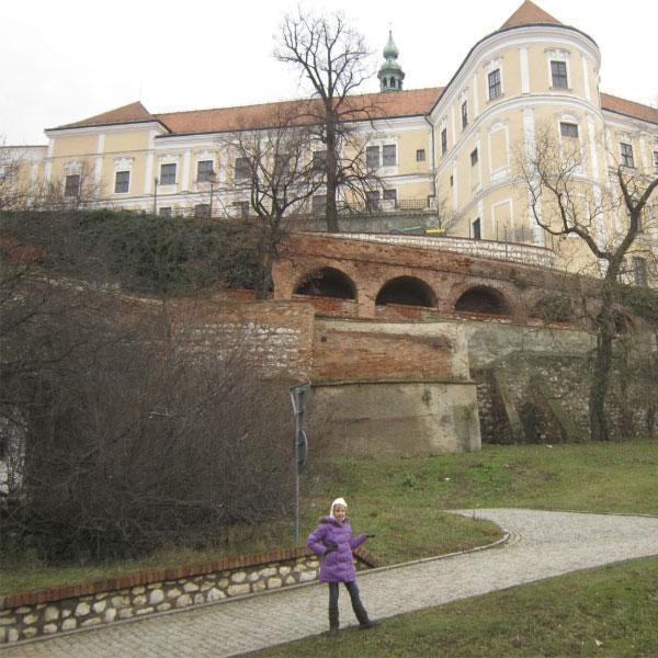 Замок династии Дитрихштейн.